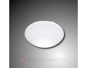 Deckeneinbauleuchte White aus Glas
