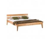Massivholzbett JillWOOD - 140 x 200cm - Kernbuche, Ars Natura