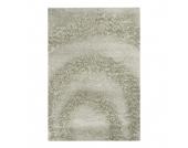 Teppich Hochflor Design - Beige - 140 x 200 cm, Home24 Deko