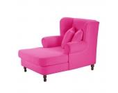 Ohrensessel Cornwall - Samtvelour Pink, Max Winzer