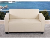 heute-wohnen 2er Sofa Couch Lyon Loungesofa Kunstleder