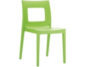 stapelbarer Design Gartenstuhl, Küchenstuhl, Stapelstuhl LUCCA, große Farbauswahl