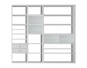 XL Regalwand Emporior I.A - Ohne Beleuchtung - Weiß, loftscape