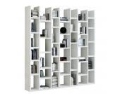 Bücherregal Emporior II - Weiß, loftscape