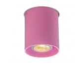 Deckenstrahler Tubo 1 rosa