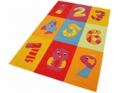 THEKO® Kinder-Teppich »Dhanbad«, bunt, 120x180 cm