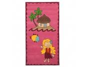Kinderteppich Maui - Pink - 100 cm x 160 cm, Theko die markenteppiche
