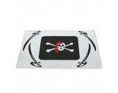 Kinderteppich Pirat -Weiß, Relita