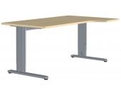 Computertisch in Ahornfarben 180 cm breit