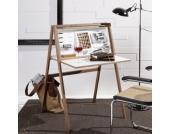 Schreibtisch Hidesk Nussbaum