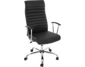 heute-wohnen Bürostuhl Drehstuhl Chefsessel Cagliari, ergonomische Form