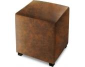 Cats Collection Hocker Sitzwürfel Wildlederoptik braun