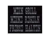 Grillmatte BBQ - Mein Grill - Grau - Grillmatte BBQ - Mein Grill - grau, andiamo
