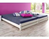Schlafwelt Stapelbett (2-tlg.), weiß, weiß, FSC®