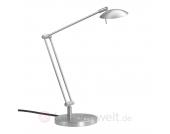 Stilvolle LED Tischleuchte Lex chrom