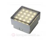 Deko-Bodeneinbauleuchte LED STEIN Q3, 3.000 K