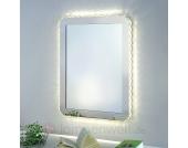 Beleuchteter Spiegel Dorisa mit LEDs