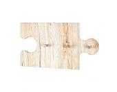 Wandgarderobe als Puzzleteil Eiche San Remo