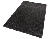 my home Hochflor-Teppich »Finn«, schwarz, 160x230 cm