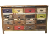Apothekerkommode, Home affaire, »Colorful«, Breite 154 cm