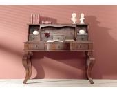 Kolonialer Schreibtisch massiv Akazie Möbel OXFORD #514