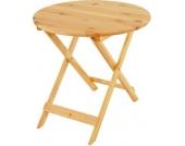 heute-wohnen Holztisch Olbia II, Gartentisch Klapptisch, 76x80x80cm, Gastroqualität