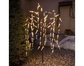 Höhe 100 cm - LED-Lichterbaum außen 96-flg.