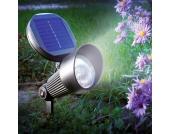 Spotlight Solar Wand- und Bodenstrahler LED