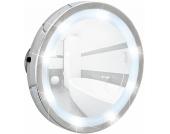 Wenko LED Leuchtspiegel Mosso, mit 3 Saugnäpfen, 3-fach Vergrößerung
