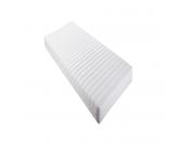 Rollmatratze Allergena - Weiß - 140 x 200cm, Relita