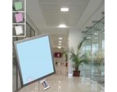 LED-Paneleinbauleuchte eckig MARTHE Farbwechsel