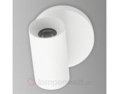 Bart - weißer LED-Decken- oder Wandstrahler