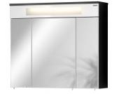 Fackelmann Kara - Spiegelschrank 80 weiß / anthrazit