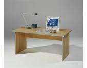 Computertisch in Buchenfarben