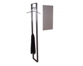 Wandgarderobe George - anthrazit, Home Design