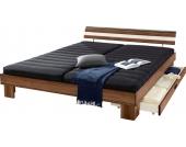 Schlafwelt Futonbett, braun, 180/200 cm, nur Bettgestell