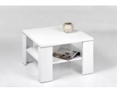 Alfa-Tische Couchtisch Santos weiß - 70 x 70 cm