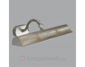 Reich verzierte Wandleuchte ARABESK silber 51 cm