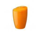 Hocker Honolulu - Kunststoff/Stoff - Orange, Fredriks